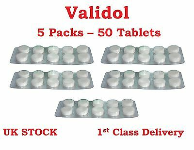 VALIDOL® 5 x 10 Tablets of 60mg ANTI Neuroses, Stress Calming & Sedative Effects