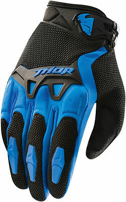 Thor Spectrum Motocross Offroad Riding Gloves Assorted Sizes Blue