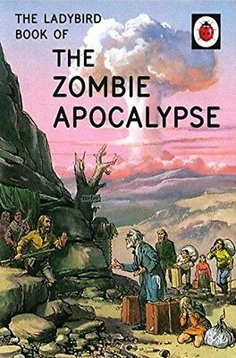 The Ladybird Book Of Zombie Apocalypse NEW Hardback Grown Up Adult Retro Gift HB