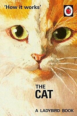How It Works The Cat Ladybirds Pet NEW Hardback Book Classic Grown Up Retro Gift