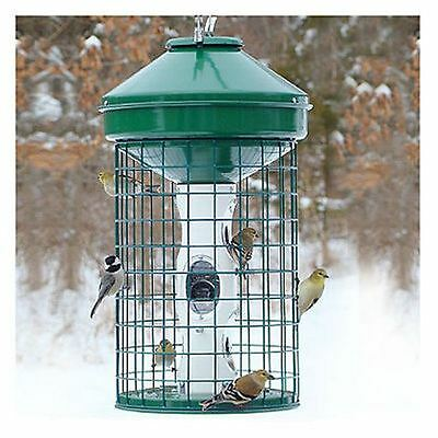 $99 Woodlink HD Caged Bird Feeder Squirrels Out Large Audubon holds 18 lbs