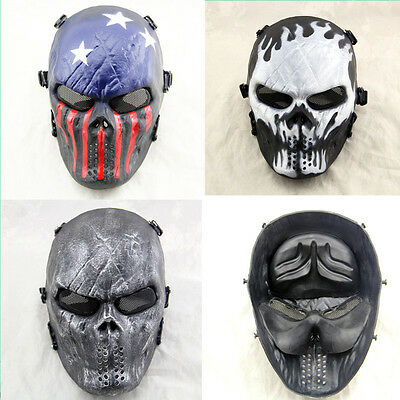 Hot Outdoor games cosplay protective equipment Airsoft Full Face Protective Mask