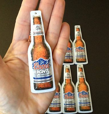Beer Signs-Coors Light Beer Christmas Ornaments -sold individually- NOS Man Cave