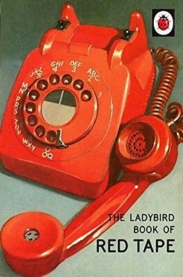 The Ladybird Book Of Red Tape NEW Hardback HB Classic Grown Up Adult Retro Gift