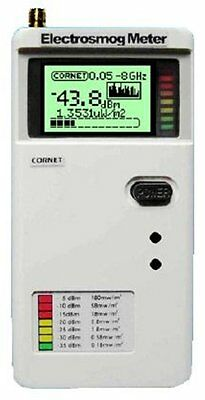 Cornet ED85EXS -6 GHz BASIC Radiofrequency Meter - easy, user friendly RF meter