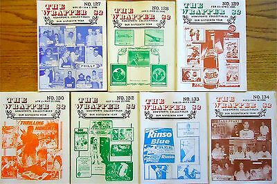 THE WRAPPER Non-Sports Collectibles 1995 - 7 Issues - VG+ BestOfferFreeShipping