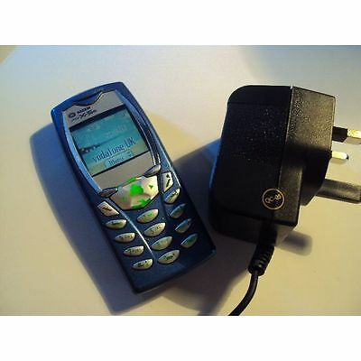 Retro Sagem Myx-5M Mobile Phone On Vodafon +Charger