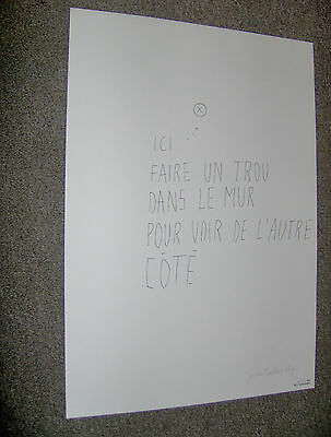 Joelle Teurlinckx Litho Signed + Numbered