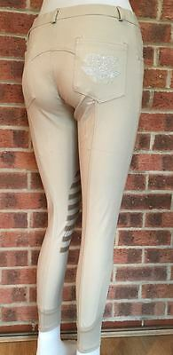 Ladies Silicone Knee Breeches - Beige