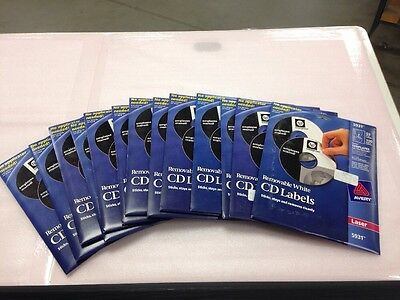 Avery Dennison 5931 CD Labels 50 Pack