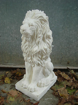 """New Latex Rubber Mould Mold + Fibreglass Jacket Of A Sitting Lion 17"""" Height"""