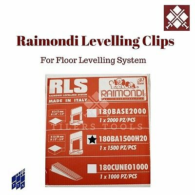 RAIMONDI FLOOR LEVELLING SYSTEM CLIPS UK Free Delivery