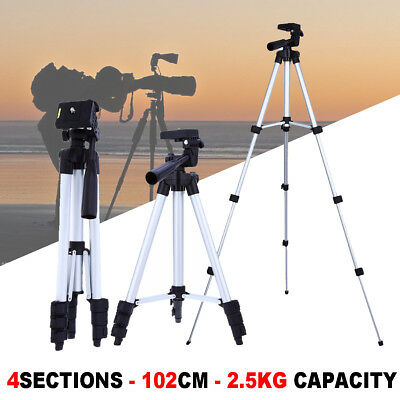New Professional Tripod stand for Nikon Canon DSLR Camera Camcorder Lightweight