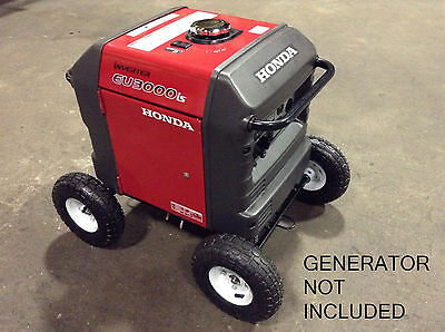 "HONDA EU3000iS INVERTER GENERATOR ALLTERRAIN 10"" PNUEMATIC WHEEL KIT *FREE SHIP*"