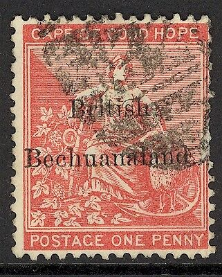Bechuanaland, Used, 6, Magnificent Centering