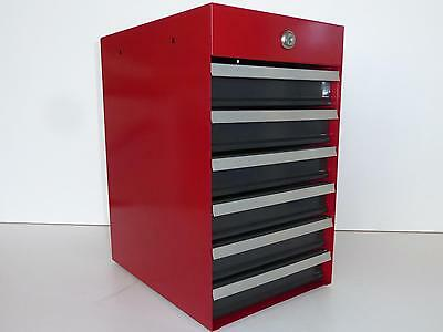 Sears Craftsman 6 Drawer Heavy Duty Mini Bench Top Tool Box Excellent Condition