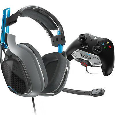 ASTRO A40 + MixAmp M80 Wired Xbox One Halo 5 Guardians Edition Headset