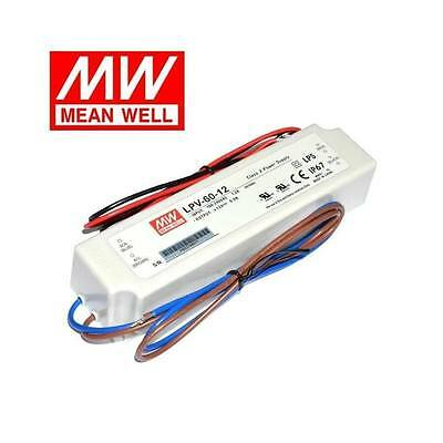 LPV-60-12 Mean Well AC-DC LED Power Supply 12V 5A 60W