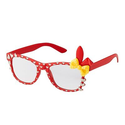 New Cute Childrens Kids Bunny Heart Bow Costume Glasses Dress Up Multiple Colour