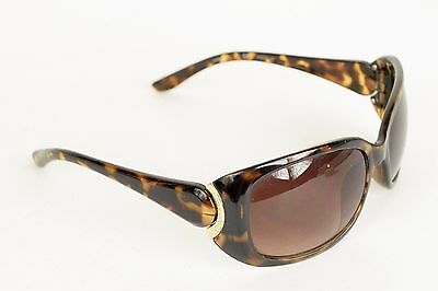 bb05fc41d15 Calvin Klein Tortoise Shell Brown Plastic Frame Sunglasses Glasses 60 17  130mm