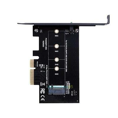 M Key M.2 NG SSD To PCI-E X4 Slot Adapter Converter Card For 2280 2230 2242 2260