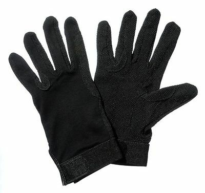 New Tough 1 Extra Large Great Grips Equestrian Glove Unisex Black