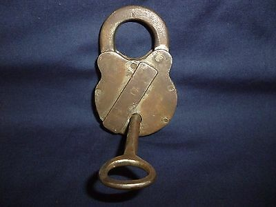 antique vintage padlock old key work