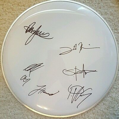 CHELSEA GRIN Signed drum head autographed autograph COA drumhead Self Inflicted
