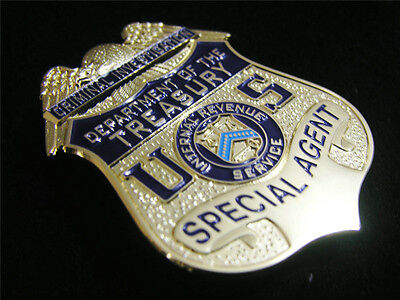 US DEPARTMENT Of THE TREASURY SPECIAL AGENT Commemorative Badge Collection