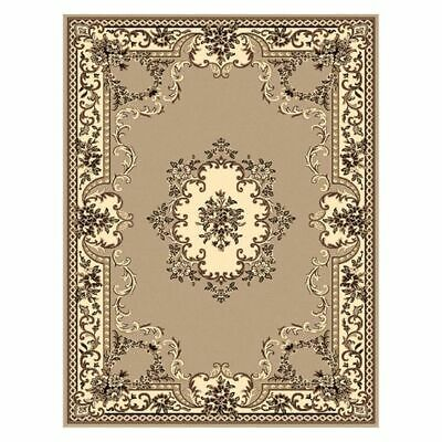 NEW Saray Rugs Sun Grace Oriental Rug in Beige, Black, Brown, Grey, Red