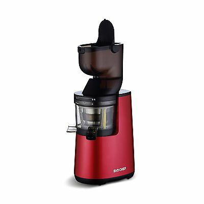 Extracteur de Jus BIOCHEF Atlas Whole Slow Juicer  - Rouge NEUF