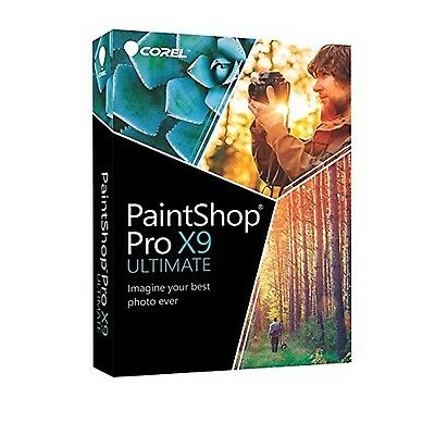 Corel Paint Shop Pro X9 Ultimate Photo Editing