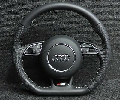 Audi A3 Multifunction Steering Wheel With Airbag S-Line 2014 8V