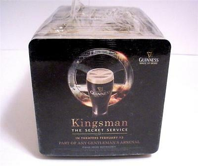 125 Guinness BEER COASTERS The Secret Service Kingsman Movie Collectible Mats