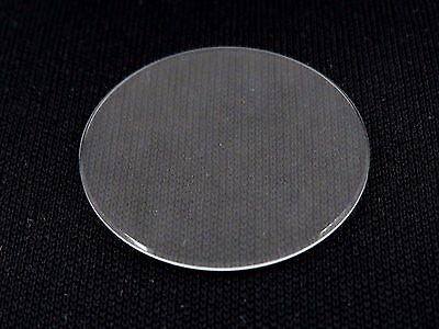 16 mm - 31.5 mm Flat Round Mineral Glass Watch Crystal 1.5 mm Thick