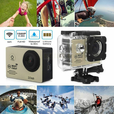 SJ7000 WIFI 2.0 LTPS 1080P Full HD Waterproof Sports DV Action Camera Camcorder
