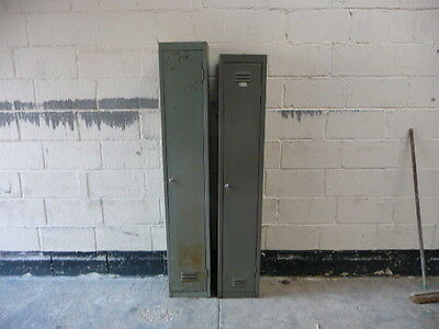 Vintage Industrial Retro Locker With New Lock And Keys-Delivery Quotes Available