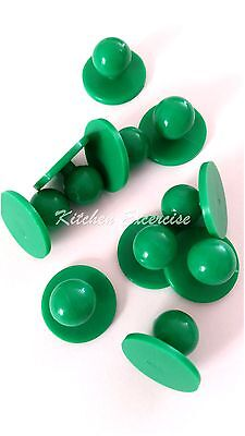 Chef Jacket Buttons...Green... Brand New