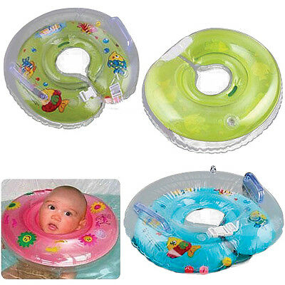 Baby Kids Aids Infant Swimming Neck Float RingS Safety Diameter 40cm Engaging