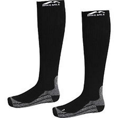 More Mile Mens Womens Ladies R2R Long Knee Running Tech Elite Compression Socks