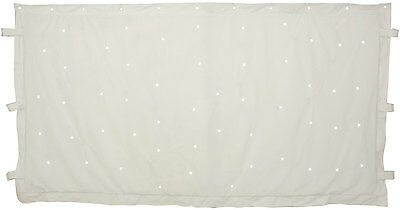 3 x 2m White star cloth with 96 White LEDs