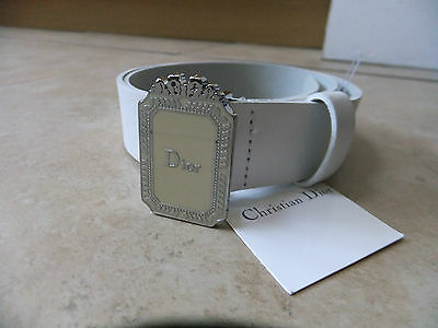 Christian Dior 100% authentic leather belt size 65/26 age 10 BNWT