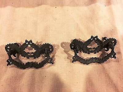 Vintage Antique Drawer Pull Handles Lot Of Two