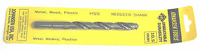 10.5mm 1 piece Twist Drill bit Metric High speed steel cutting hs hss 10.5 mm