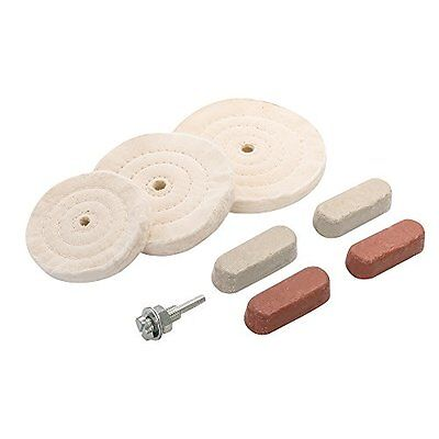 Silverline 351903 100/125/150 mm Polishing and Buffing Kit
