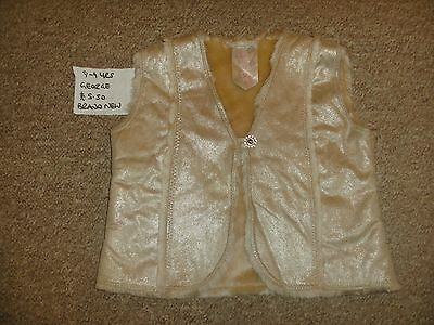 Girls 8-9 Years Christmas Party Wear Gillette/body Warmer Brand New