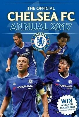 The Official Chelsea FC Football Club Annual 2017 NEW Hardback Kids Soccer Book