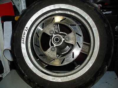 Peugeot vivacity 50 front wheel, disc and tyre complete 120/70-12
