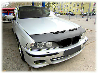 Bmw 5 E39 1995-2004 Custom Car Hood Bonnet Bra Front Mask Bra De Capot