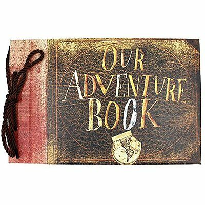 SAIBANG Our Adventure Book Pixar Up Handmade DIY Scrapbook/Photo Album Beautiful
